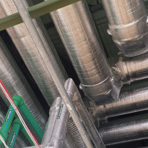 pipe insulation thermal conductivity